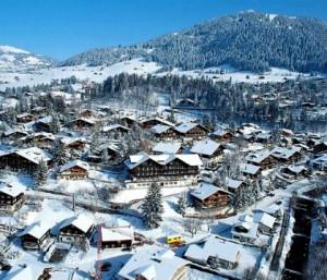 Швейцария, курорт Гштаад