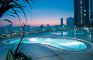 ОАЭ Hilton_Sharjah_Pool_Sunrise