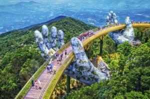Золотой мост в Дананге!